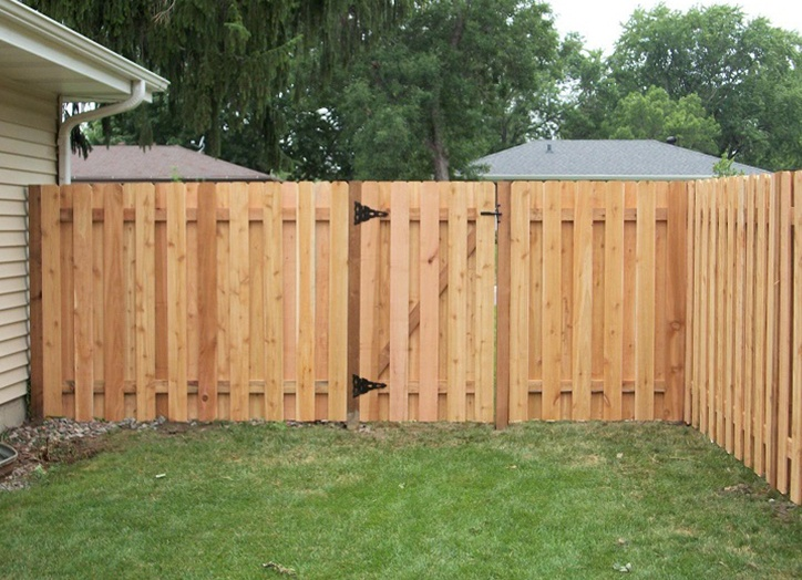 Wooden Fence Alt Panel