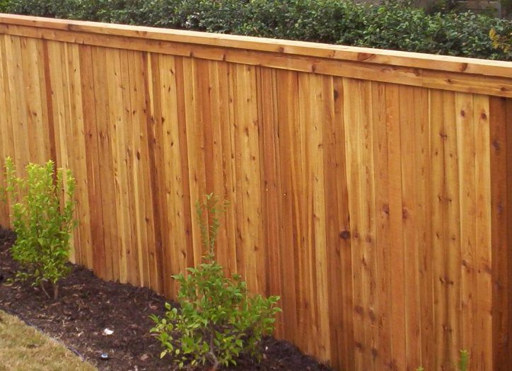 Wooden Fence Flat Top